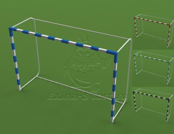 Футбольные ворота своими руками из пвх труб схема 6
